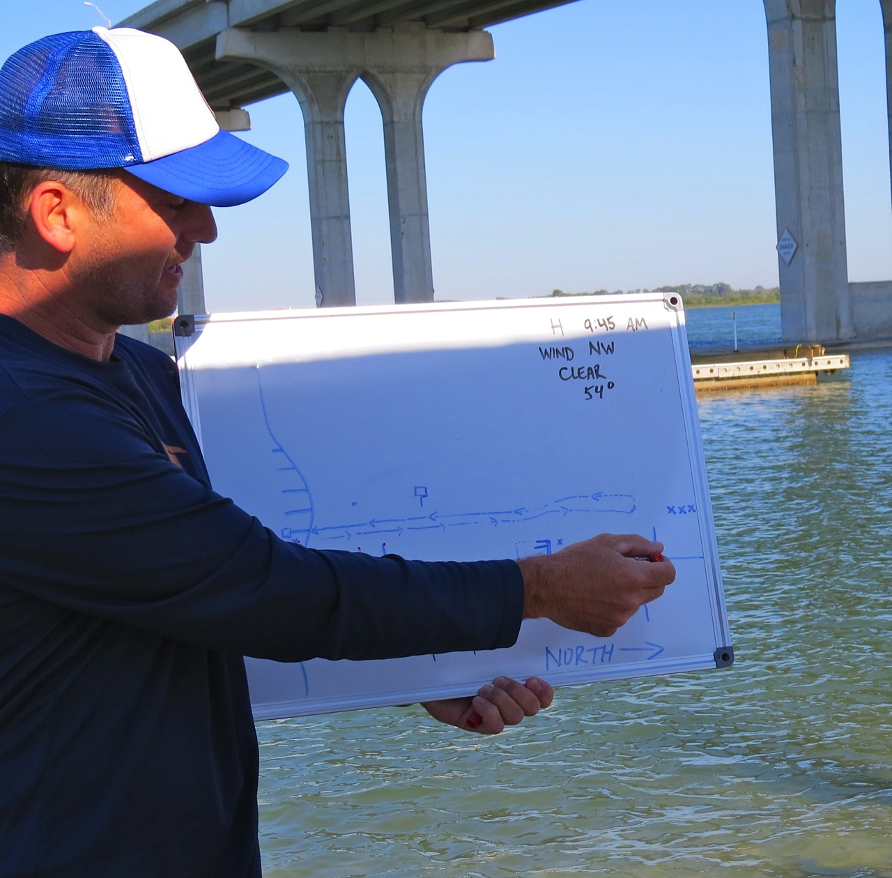 Learning SUP in a easy and warm environment with ACA L3 Instructor Todd Bishop