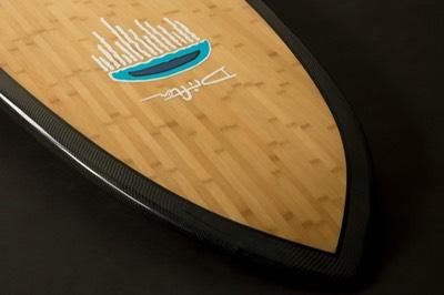 SUP drifter bamboo hull