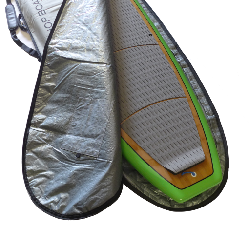fin pocket of durable protective sup bag