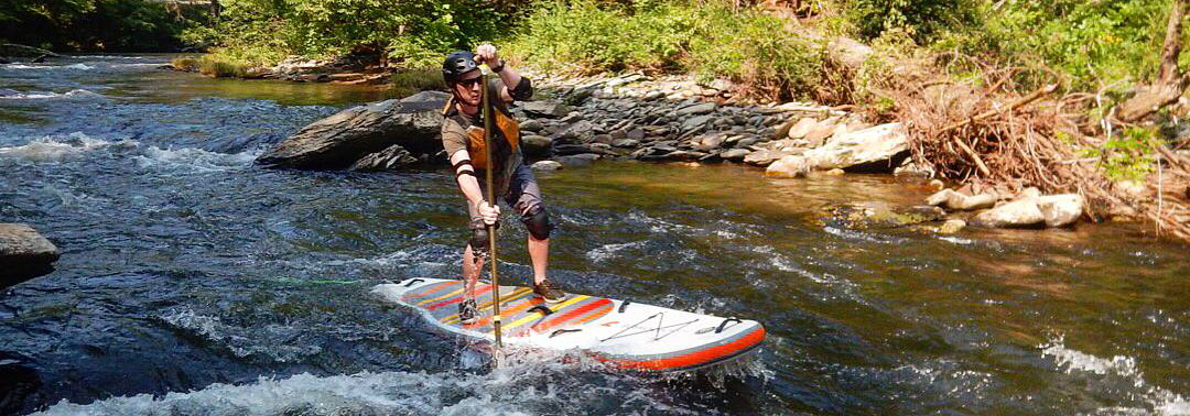 inflatable sup paddleboard whitewater